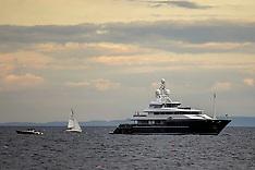 Tom Cruise boat, Pittenweem, 15 August 2021