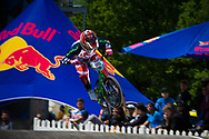 #95 (NOBLES Barry) USA at the UCI BMX Supercross World Cup in Papendal, Netherlands.
