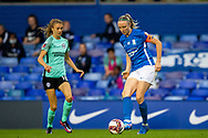 Birmingham City defender Louise Quinn (4) during the FA Women's Super League match between Birmingham City Women and Brighton and Hove Albion Women at St Andrews, Birmingham United Kingdom on 12 September 2021.