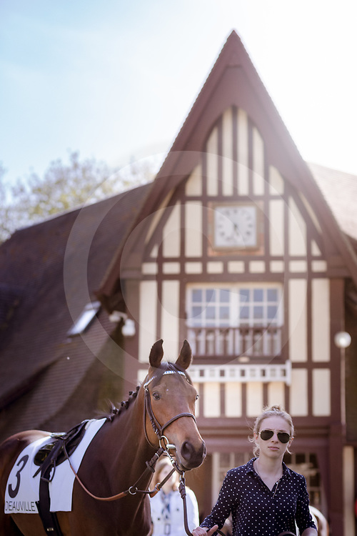 Behind the scenes in Deauville