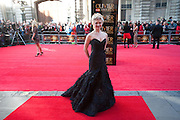 SCARLETT STRALLEN, Olivier Awards 2012, Royal Opera House, Covent Garde. London.  15 April 2012.