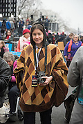 AMY TOUCHETTE, Womens's March on  Washington DC. 21 January 2017
