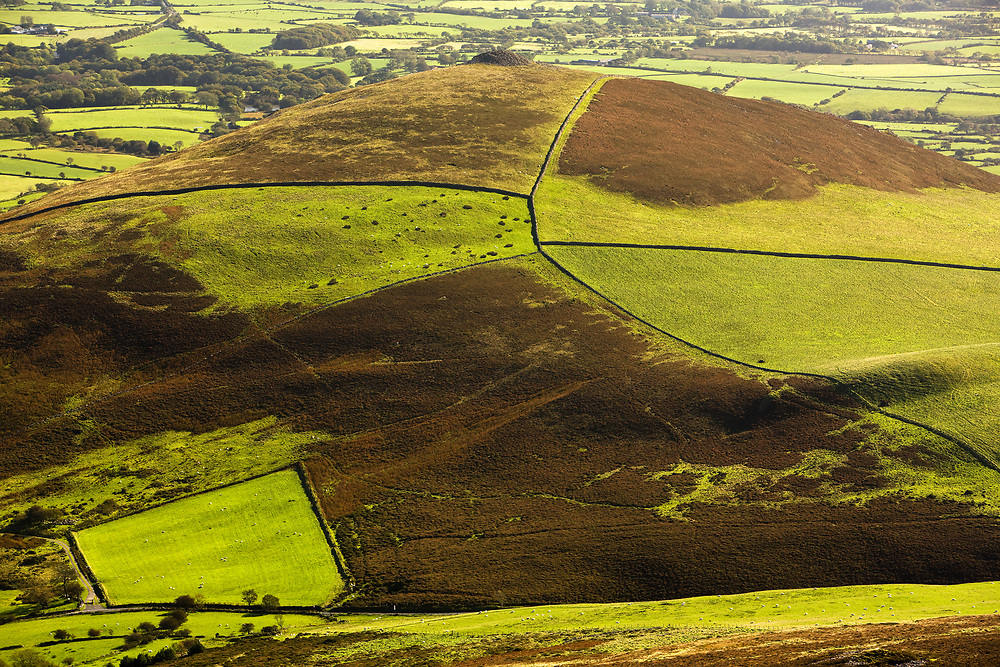It is said that the distinctive breast-shaped hillside of Mynydd Carnguwch is sometimes aptly referred to as Bron y Ferch (The Girl's Breast). It was over these hillsides, years ago, that men from the village would have had to walk for many miles to fetch supplies from the nearest towns, bringing everything back by hand.