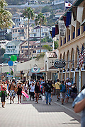 Downtown Avalon on Catalina Island