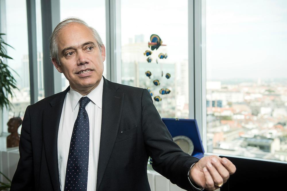Brussels, Belgium 18 September 2014<br /> Fernando Frutuoso de Melo, Director General for Development Cooperation at the European Commission.<br /> Photo Ezequiel Scagnetti