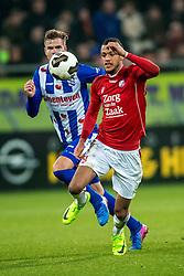05-02-2017 NED: FC Utrecht - Heerenveen, Utrecht<br /> 21e speelronde van seizoen 2016-2017, Nieuw Galgenwaard / Richairo Zivkovic #9