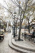 Zikhron Ya'akov, Israel, the old original street of the settlement