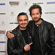 David Martiner and Will Kemp attends Raindance Film Festival Gay Times Gala screening - George Michael: Freedom (The Director's Cut) London, UK. 4th October 2018.