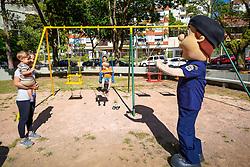 Porto Alegre, RS 02/03/2020: Prefeito Nelson Marchezan Júnior realizou, na manhã desta segunda-feira (02), vistoria das obras de revitalização da Praça Nações Unidas, localizada na Rua Artigas esquina Rua Felizardo, no Bairro Petrópolis. Foto: Jefferson Bernardes/PMPA