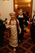 Ursula Adams and Asne Sunniva. The St. Petersburg Ball, In aid of the Children's Fire and Burn Trust-Russia 2005.  The Cafe Royal. 3 February 2006. -DO NOT ARCHIVE-© Copyright Photograph by Dafydd Jones 66 Stockwell Park Rd. London SW9 0DA Tel 020 7733 0108 www.dafjones.com