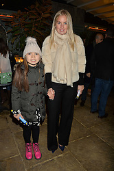 The Ivy Chelsea Garden's Guy Fawkes Party & Launch of The Winter Garden was held on 5th November 2016.<br /> Picture shows:- MARISSA MONTGOMERY and her goddaughter LOLA LEWIS