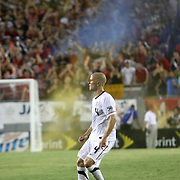 USA midfielder Michael Bradley (4) during a  CONCACAF Gold Cup soccer match between the United States and Panama on Saturday, June 11, 2011, at Raymond James Stadium in Tampa, Fla. (AP Photo/Alex Menendez)