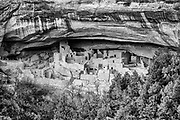 Cliff Palace contained 150 rooms and 23 kivas and had a population of approximately 100 people