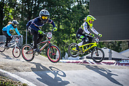 #777 (MAIRE Camille) FRA during practice at Round 5 of the 2018 UCI BMX Superscross World Cup in Zolder, Belgium
