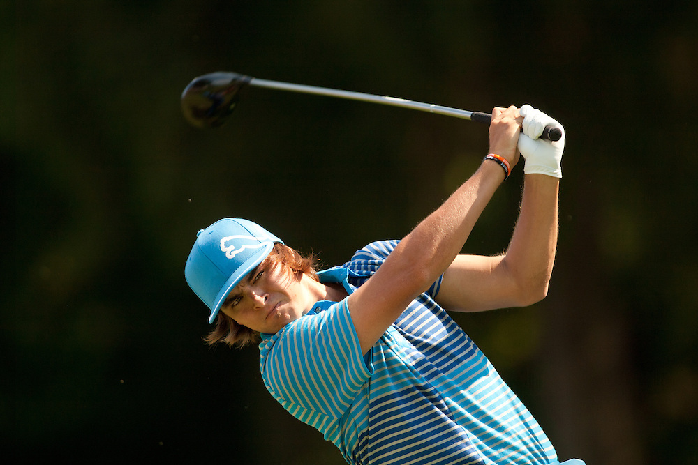 NEWTOWN SQUARE, PA - JULY 2: Rickie Fowler during the third round of the 2011 AT&T National at Aronimink Golf Club in Newtown Square, Pennsylvania on July 2, 2011. (Photograph ©2011 Darren Carroll) *** Local Caption *** Rickie Fowler
