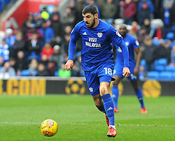 Callum Paterson of Cardiff City in action- Mandatory by-line: Nizaam Jones/JMP- 13/01/2018 -  FOOTBALL - Cardiff City Stadium - Cardiff, Wales -  Cardiff City v Sunderland - Sky Bet Championship
