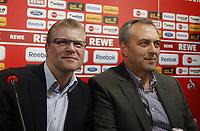 BILDET INNGÅR IKKE I FASTAVTALENE PÅ NETT MEN MÅ KJØPES SEPARAT<br /> <br /> Fotball<br /> Tyskland<br /> Foto: imago/Digitalsport<br /> NORWAY ONLY<br /> <br /> 13.04.2012<br /> Köln, Fussball, Herren, 1.Bundesliga, Saison 2011/2012, Pressekonferenz , Frank Schäfer übernimmt die Profimannschaft des 1. FC Köln<br /> Frank Schäfer, Claus Horstmann