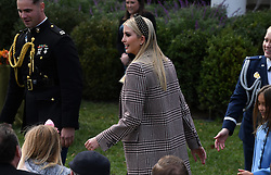 Ivanka Trump attends the National Thanksgiving Turkey pardoning ceremony in the Rose Garden of the White House in Washington, DC on November 20, 2018. Photo by Olivier Douliery/ABACAPRESS.COM