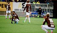 Fotball , 19 . november 2017 , kvalifisering  til Eliteserien / OBOS , <br /> Mjøndalen - Ranheim 1-2<br /> Amahl Pellegrino ,, MIF depper etter tap