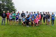 Group of competitors in the 2018 Hague Endurance Festival Olympic Triathlon