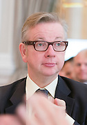 © Licensed to London News Pictures. 25/06/2014. London, UK. MICHAEL GOVE. The Deputy Prime Minister hosts an awards ceremony on Wednesday 25 June for schools from across the country who have won this year's Pupil Premium Awards. The awards are for schools that have shown that they can use the extra funding for pupils from disadvantaged backgrounds to narrow the attainment gap between them and their peers. Every region has a primary and secondary school winner, and a number of special schools are recognised for their achievement. The three overall national winners will also be announced at the event.. Photo credit : Stephen Simpson/LNP