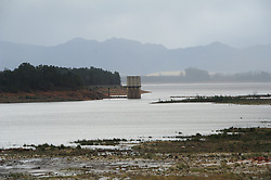 Cape Town - 180702 - Theewaterskloof Dam water level continues to rise thanks to the good rain the region received in the last week. Severe rainstorms lashed Cape Town and other parts of the drought-stricken Western Cape overnight, leading to severe flooding in places. Picture: Henk Kruger/ANA/African News Agency