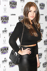 © Licensed to London News Pictures. 23/01/2014, UK. Lucy Pinder, Pure Rally - Launch Event, Avista Bar, London UK, 23 January 2014. Photo credit : Brett D. Cove/Piqtured/LNP