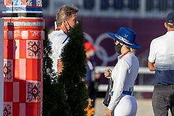 Bond Ashlee, ISR, Dubbeldam jeroen, NED<br /> Olympic Games Tokyo 2021<br /> © Hippo Foto - Dirk Caremans<br /> 03/08/2021
