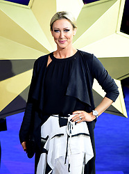 Faye Tozer attending the Captain Marvel European Premiere held at the Curzon Mayfair, London. Picture date: Wednesday February 27, 2019. Photo credit should read: Ian West/PA Wire