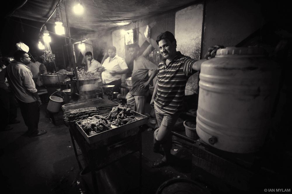 Street-Food Vendors -  Night market, Bangalore, India