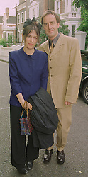 LISE MEYER and ANGUS DEAYTON he is the TV presenter and actor, at a party in London on 25th June 1998.MIT 65
