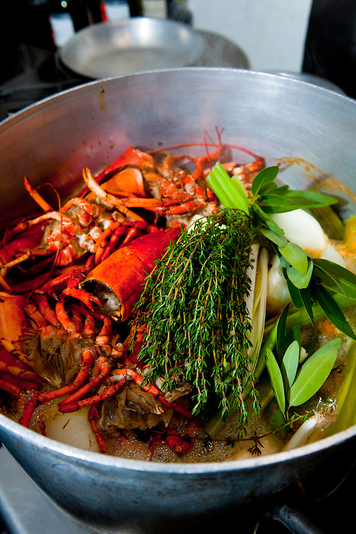Food specialties created by the talented and creative Chef Jason Dodge at Peche Restaurant and Bar. Rich fish stock prepared by Chef Jason for use in many of the creative sauces and gravies that accompany his entree's.
