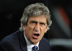 Manchester City Manager, Manuel Pellegrini - Photo mandatory by-line: Dougie Allward/JMP - Mobile: 07966 386802 - 18/03/2015 - SPORT - Football - Barcelona - Nou Camp - Barcelona v Manchester City - UEFA Champions League - Round 16 - Second Leg