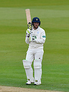 Liam Dawson of Hampshire during the first day of the Specsavers County Champ Div 1 match between Hampshire County Cricket Club and Essex County Cricket Club at the Ageas Bowl, Southampton, United Kingdom on 5 April 2019.
