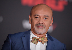 Christian Louboutin attends the world premiere of Disney Pictures and Lucasfilm's 'Star Wars: The Last Jedi' at The Shrine Auditorium on December 9, 2017 in Los Angeles, CA, USA. Photo by Lionel Hahn/ABACAPRESS.COM
