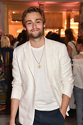 "Douglas Booth at the opening of ""Frida Kahlo: Making Her Self Up"" Exhibition at the V&A Museum, London England. 13 June 2018."