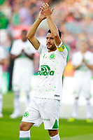 Chapecoense's surviving player of the air crash Alan Ruschel before Joan Gamper Trophy. August 7,2017. (ALTERPHOTOS/Acero)
