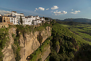 Buildings on cliff in Ronda, Spain