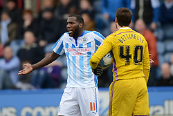 Huddersfield Town's Ishmael Miller reacts - Photo mandatory by-line: Richard Martin-Roberts/JMP - Mobile: 07966 386802 - 21/03/2015 - SPORT - Football - Huddersfield - John Smith's Stadium - Huddersfield Town v Fulham - Sky Bet Championship