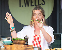 Candice Brown live on stage at Pub in the Park at the Royal Victoria Park, Bath, on Saturday 19th June 2021