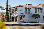 The Bartlett Building at the Corner Del Mar Street and El Camino Real in Downtown San Clemente