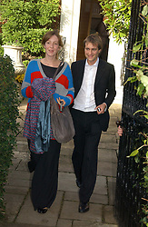 BEN & KATE GOLDSMITH  at the wedding of Lucy Ferry to Robin Birley held at Ormsby Lodge, Ham Gate Avenue, Ham, Surrey on 26th October 2006.<br /><br />NON EXCLUSIVE - WORLD RIGHTS