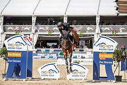 BRINKMANN Markus (GER), PIKEUR DYLON<br /> Münster - Turnier der Sieger 2019<br /> Grosser Preis von Münster <br /> BEMER Riders Tour Etappenwertung<br /> CSI4* - Int. Jumping competition over 2 rounds (1.60 m)<br /> 04. August 2019<br /> © www.sportfotos-lafrentz.de/Stefan Lafrentz