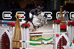 Vrieling Jur, (NED), Corporal VDL<br /> MEVISTO Amadeus Horse Indoor Salzburg<br /> © Hippo Foto - Stefan Lafrentz<br /> 11-12-2016