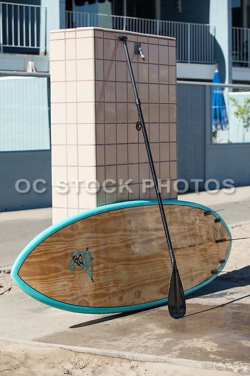 Stand Up Paddle Board Stock Photo