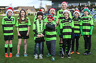 FGR Ambassadors during the EFL Sky Bet League 2 match between Forest Green Rovers and Crewe Alexandra at the New Lawn, Forest Green, United Kingdom on 22 December 2018.