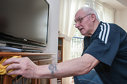 Pensioners in supported housing