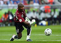 Fotball<br /> VM 2006<br /> Foto: Dppi/Digitalsport<br /> NORWAY ONLY<br /> <br /> FOOTBALL - WORLD CUP 2006 - STAGE 1 - GROUP E - ITALIA v GHANA - 12/06/2006<br /> <br /> RICHARD KINGSTON (GHA)