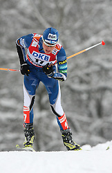 Janne Ryynaenen of Finland at Nordic Combined Individual Gundersen NH, 10 km, at FIS Nordic World Ski Championships Liberec 2008, on February 22, 2009, in Vestec, Liberec, Czech Republic. (Photo by Vid Ponikvar / Sportida)