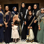Eniyah Rana of Modest Street Hijabi Makeup Stylist and blogger with fans and family attend Asian Restaurant & Takeaway Awards | ARTA 2018 at InterContinental London - The O2, London, UK. 30 September 2018.